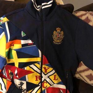 Polo Ralph Lauren zip-up Men's sweater size S